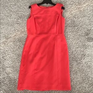 Coral Women's Sleeveless Dress